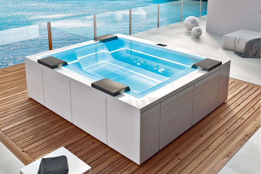 Vasche per arredo bagno a Centocelle Roma, minipiscine